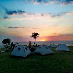 חניון לילה - גן לאומי אשקלון