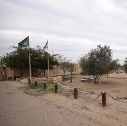 """חניון לילה - גן לאומי תל ערד - """"החאן הכנעני"""""""